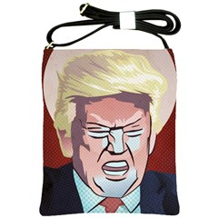 Donald Trump Pop Art President Usa Shoulder Sling Bags by BangZart