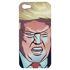 Donald Trump Pop Art President Usa Apple Iphone 5 Hardshell Case by BangZart