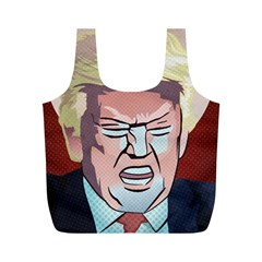 Donald Trump Pop Art President Usa Full Print Recycle Bags (m)  by BangZart