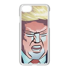 Donald Trump Pop Art President Usa Apple Iphone 8 Seamless Case (white)