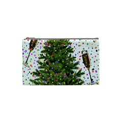 New Year S Eve New Year S Day Cosmetic Bag (small)  by BangZart