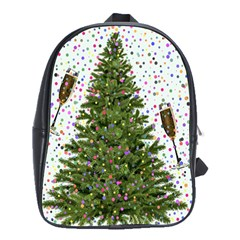 New Year S Eve New Year S Day School Bag (large)