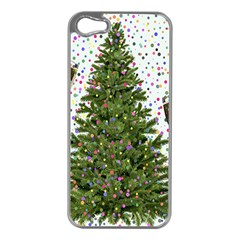 New Year S Eve New Year S Day Apple Iphone 5 Case (silver)