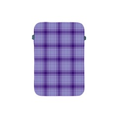 Purple Plaid Original Traditional Apple Ipad Mini Protective Soft Cases