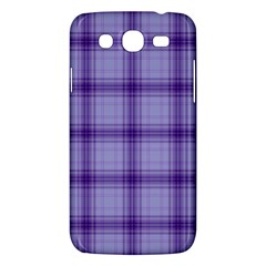 Purple Plaid Original Traditional Samsung Galaxy Mega 5 8 I9152 Hardshell Case