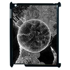 Space Universe Earth Rocket Apple Ipad 2 Case (black) by BangZart