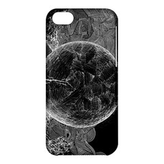 Space Universe Earth Rocket Apple Iphone 5c Hardshell Case by BangZart