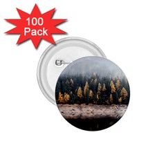 Trees Plants Nature Forests Lake 1 75  Buttons (100 Pack)