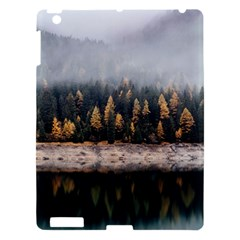 Trees Plants Nature Forests Lake Apple Ipad 3/4 Hardshell Case