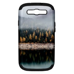 Trees Plants Nature Forests Lake Samsung Galaxy S Iii Hardshell Case (pc+silicone)