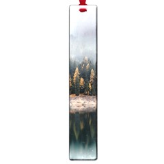 Trees Plants Nature Forests Lake Large Book Marks by BangZart