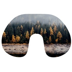 Trees Plants Nature Forests Lake Travel Neck Pillows by BangZart