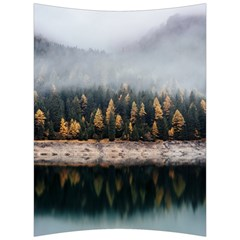 Trees Plants Nature Forests Lake Back Support Cushion