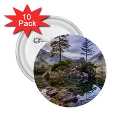 Hintersee Ramsau Berchtesgaden 2 25  Buttons (10 Pack)  by BangZart