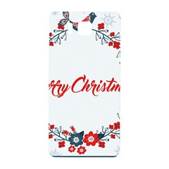 Merry Christmas Christmas Greeting Samsung Galaxy Alpha Hardshell Back Case