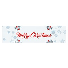 Merry Christmas Christmas Greeting Satin Scarf (oblong)