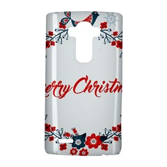 Merry Christmas Christmas Greeting Lg G4 Hardshell Case