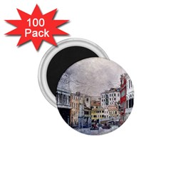 Venice Small Town Watercolor 1 75  Magnets (100 Pack)