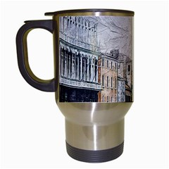Venice Small Town Watercolor Travel Mugs (white) by BangZart