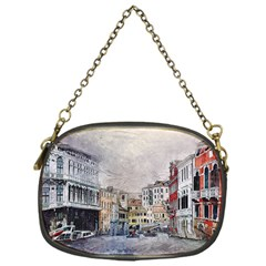 Venice Small Town Watercolor Chain Purses (one Side)  by BangZart