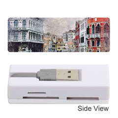 Venice Small Town Watercolor Memory Card Reader (stick)  by BangZart