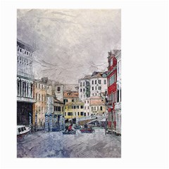 Venice Small Town Watercolor Large Garden Flag (two Sides) by BangZart