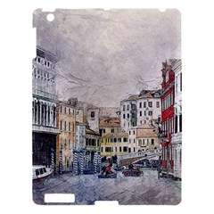 Venice Small Town Watercolor Apple Ipad 3/4 Hardshell Case by BangZart
