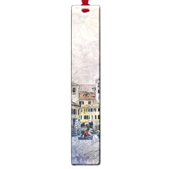 Venice Small Town Watercolor Large Book Marks