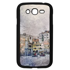 Venice Small Town Watercolor Samsung Galaxy Grand Duos I9082 Case (black) by BangZart