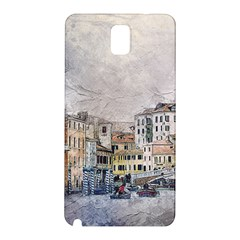 Venice Small Town Watercolor Samsung Galaxy Note 3 N9005 Hardshell Back Case