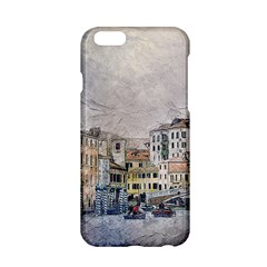 Venice Small Town Watercolor Apple Iphone 6/6s Hardshell Case by BangZart