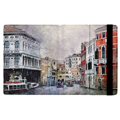 Venice Small Town Watercolor Apple Ipad Pro 12 9   Flip Case