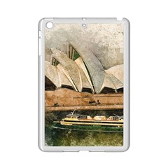 Sydney The Opera House Watercolor Ipad Mini 2 Enamel Coated Cases by BangZart