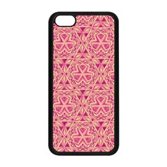 Tribal Pattern Hand Drawing Apple Iphone 5c Seamless Case (black) by Cveti
