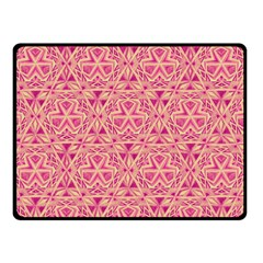 Tribal Pattern Hand Drawing Double Sided Fleece Blanket (small)  by Cveti
