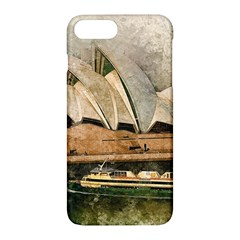 Sydney The Opera House Watercolor Apple Iphone 7 Plus Hardshell Case by BangZart