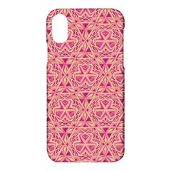 Tribal Pattern Hand Drawing Apple Iphone X Hardshell Case by Cveti