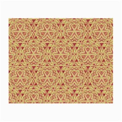 Tribal Pattern Hand Drawing 2 Small Glasses Cloth (2 Side)