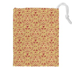 Tribal Pattern Hand Drawing 2 Drawstring Pouches (xxl)