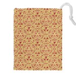 Tribal Pattern Hand Drawing 2 Drawstring Pouches (XXL) Front