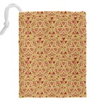 Tribal Pattern Hand Drawing 2 Drawstring Pouches (XXL) Back