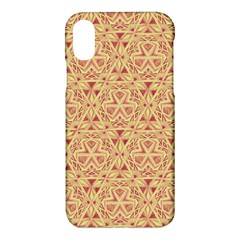 Tribal Pattern Hand Drawing 2 Apple Iphone X Hardshell Case by Cveti