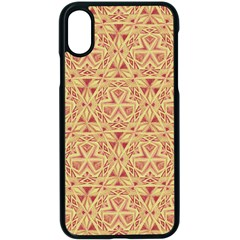 Tribal Pattern Hand Drawing 2 Apple Iphone X Seamless Case (black) by Cveti