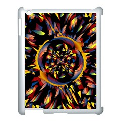 Spiky Abstract Apple Ipad 3/4 Case (white) by linceazul