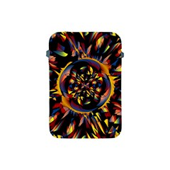 Spiky Abstract Apple Ipad Mini Protective Soft Cases by linceazul