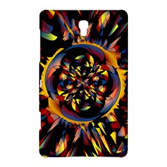 Spiky Abstract Samsung Galaxy Tab S (8 4 ) Hardshell Case  by linceazul