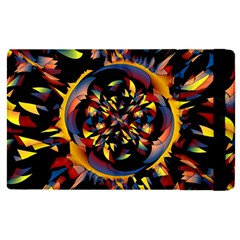 Spiky Abstract Apple Ipad Pro 12 9   Flip Case by linceazul