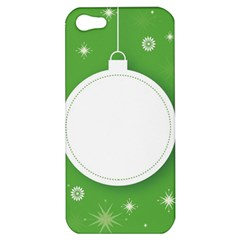 Christmas Bauble Ball Apple Iphone 5 Hardshell Case by BangZart