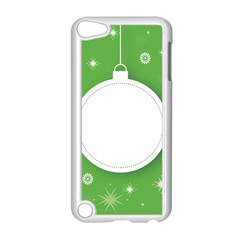 Christmas Bauble Ball Apple Ipod Touch 5 Case (white) by BangZart
