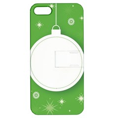 Christmas Bauble Ball Apple Iphone 5 Hardshell Case With Stand by BangZart